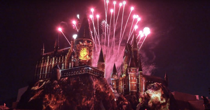 Wizarding World of Harry Potter Nighttime Show
