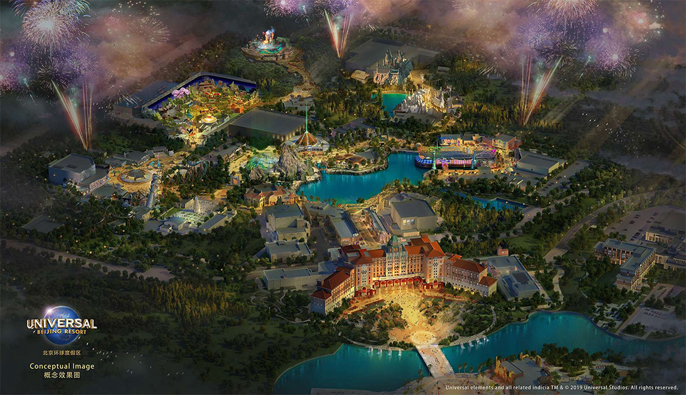 Universal Studios Beijing Reveals Seven Themed Lands: Harry Potter, Transformers, Jurassic World & More