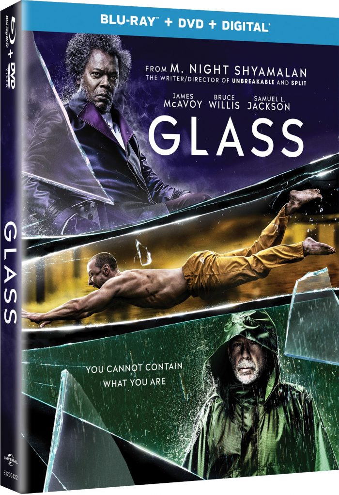Glass Blu-ray cover
