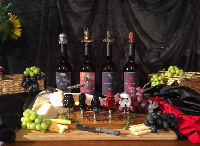 Star Wars Metallic Edition wine stoppers