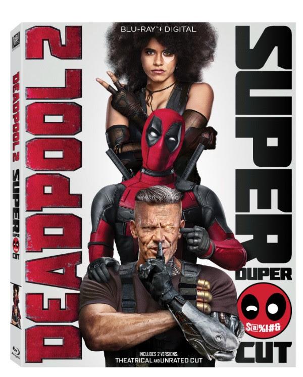 Deadpool 2 blu cover