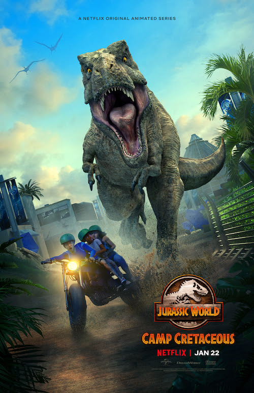 Jurassic World Camp Cretaceous season 2 poster