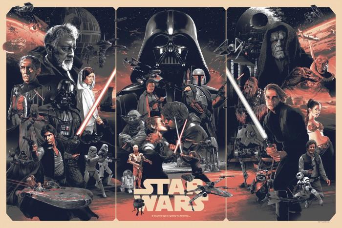 Gabz star wars poster print variant