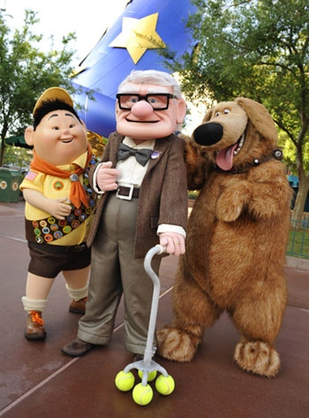 up costumed characters