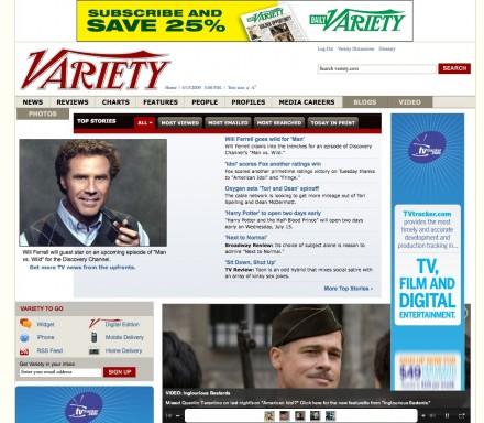 variety new site