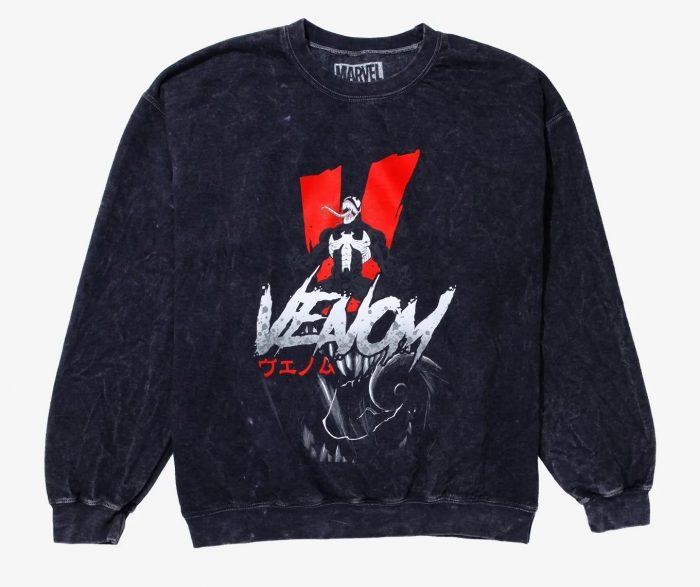 Venom Acid Wash Sweatshirt