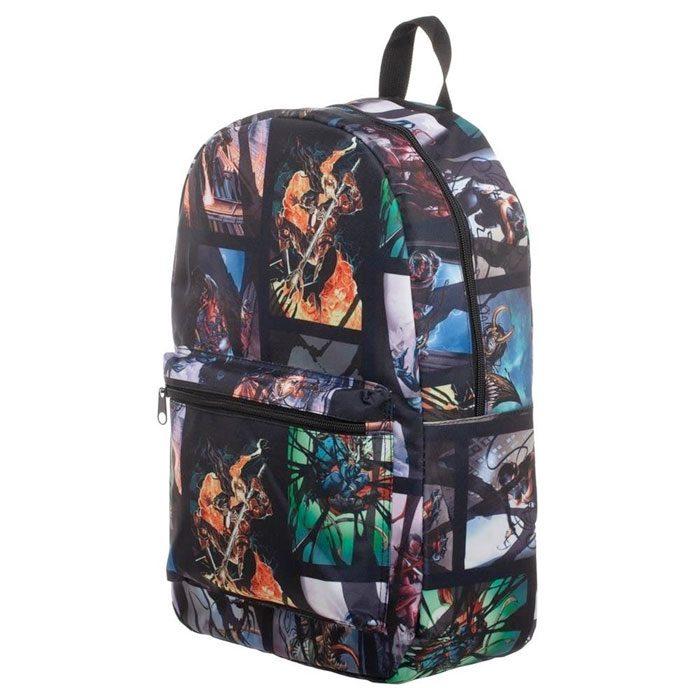 Venom Comic Print Backpack