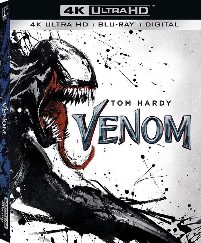 Venom Blu-ray Cover