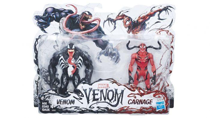 Venom and Carnage Action Figure Set