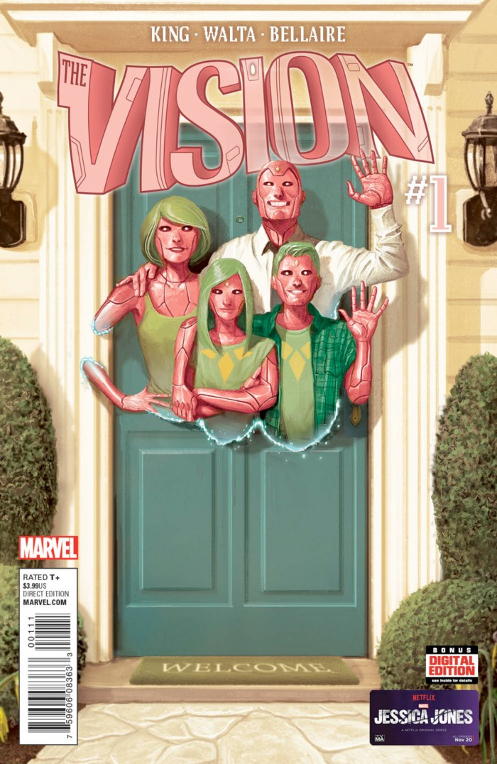 The Vision Comic #1