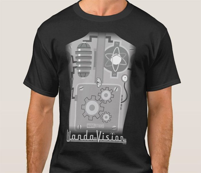 WandaVision - Vision Gum in the Works T-Shirt