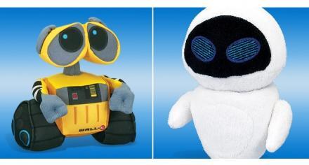 WALL-E Plush Buddies