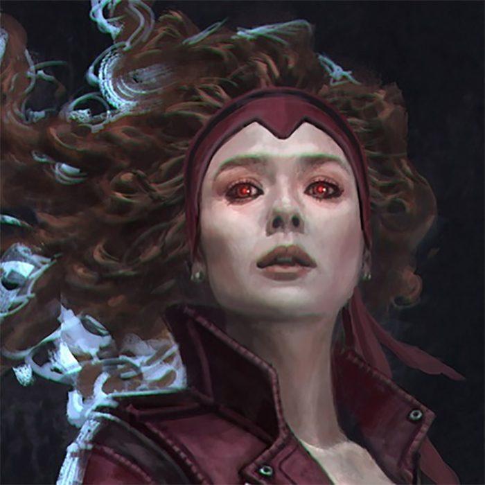 WandaVision Concept Art - Scarlet Wtich Alt Headband