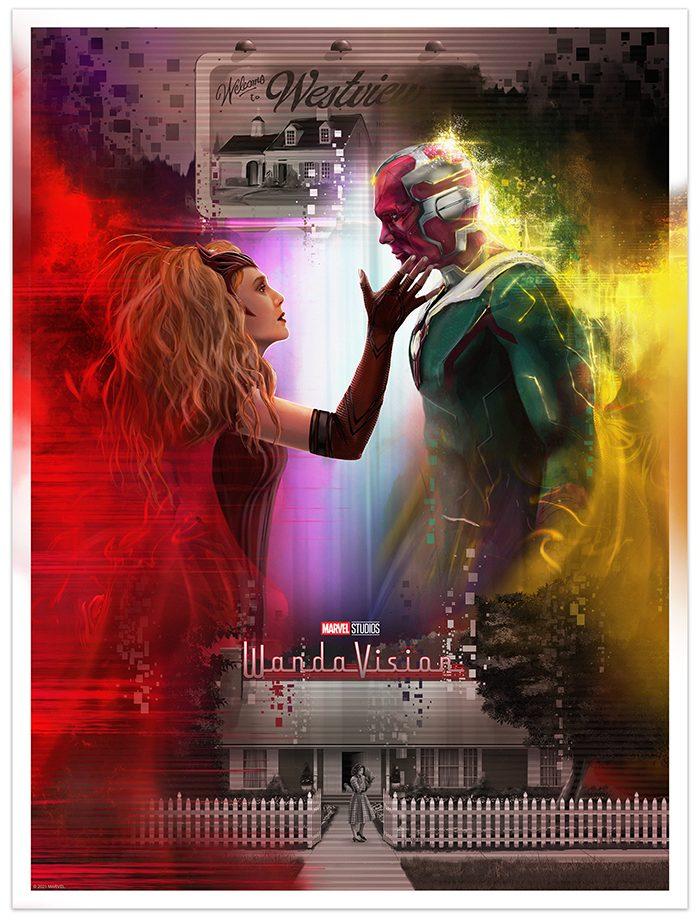 WandaVision Posters - Andy Fairhurst