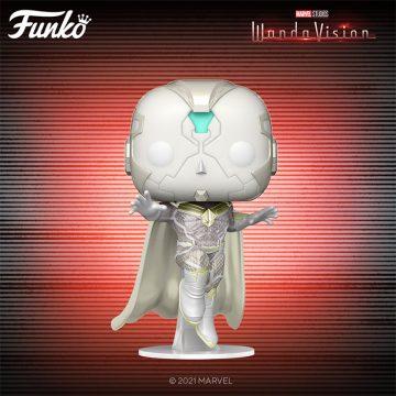 WandaVision Funko POPs - White Vision