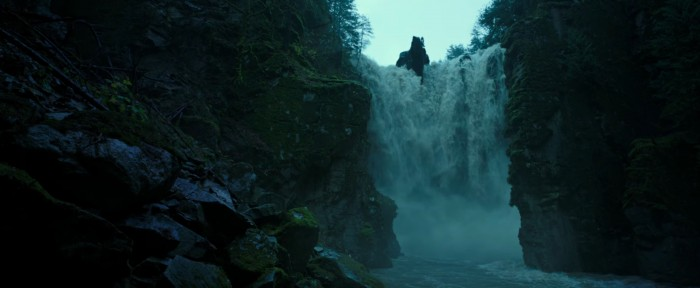 war for the planet of the apes waterfall hidden fortress