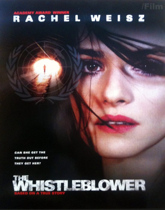 the whistleblower poster Cannes