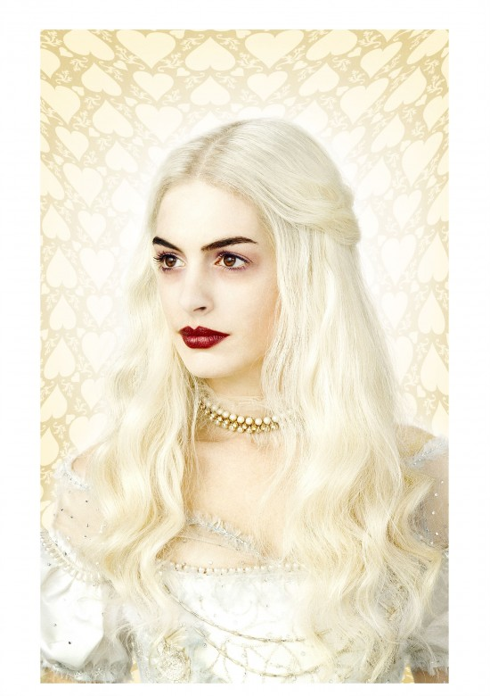 Alice in Wonderland white queen