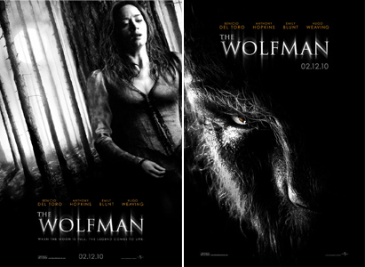 the wolfman posters