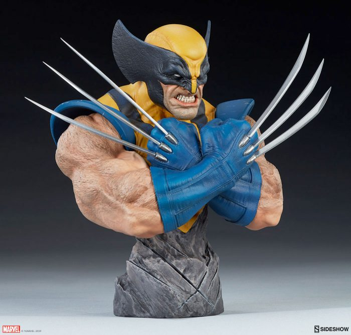 Wolverine Sideshow Collectibles Bust