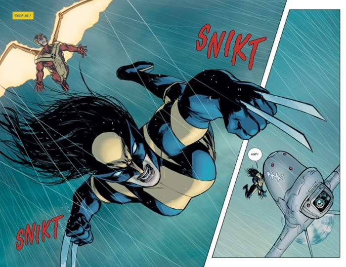 Wolverine female comic