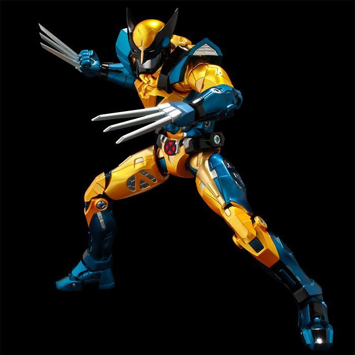 Wolverine Fighting Armor Figure