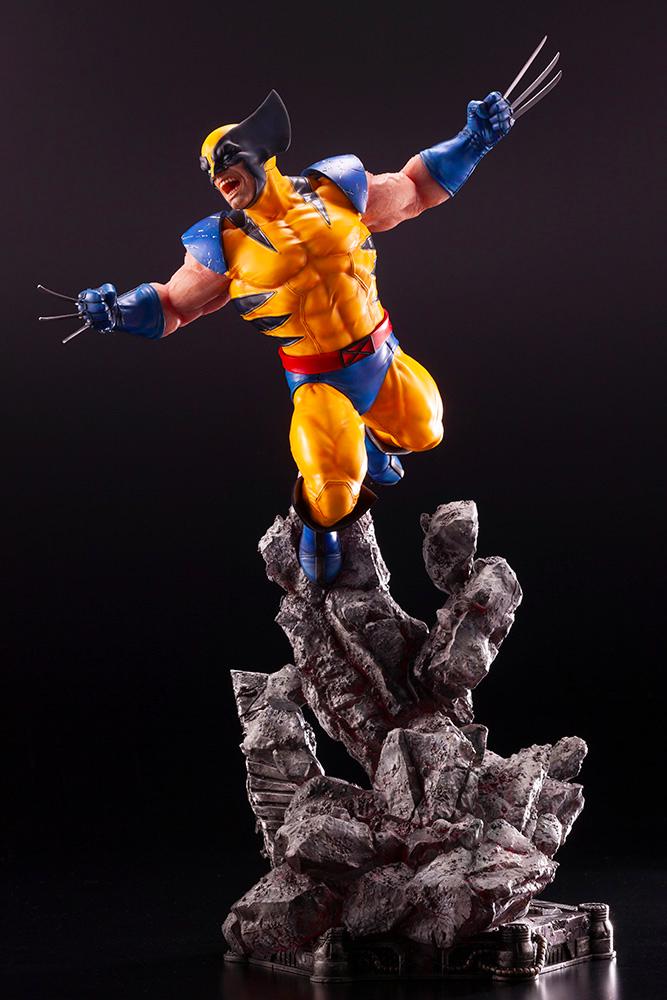 Wolverine Fine Art Statue