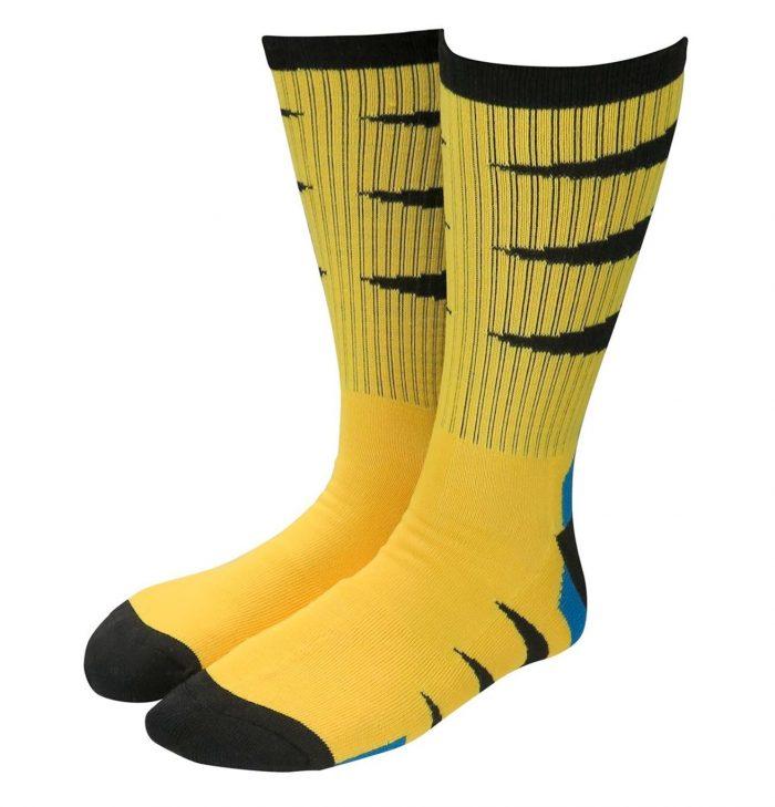 Wolverine Yellow Suit Socks