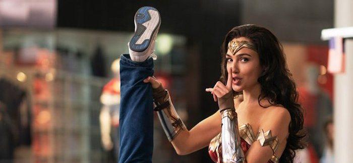 'Wonder Woman 1984' Image: Wonder Woman Shakes Down a Criminal