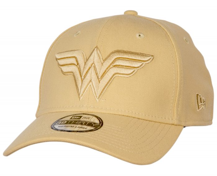Wonder Woman Golden Fitted Hat