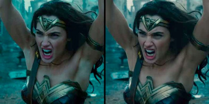 Wonder Woman Armipits Touched Up