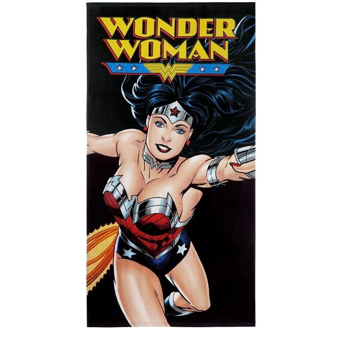 Wonder Woman Beach Towel