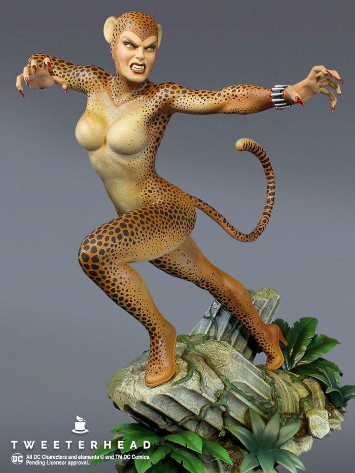 Cheetah Tweeterhead Maquette