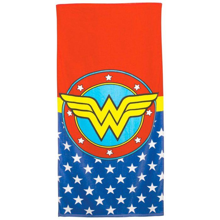 Wonder Woman Classic Logo Beach Towel