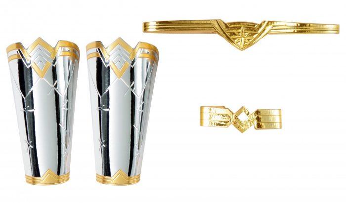 Wonder Woman Gauntlets, Tiara and Armband Kit
