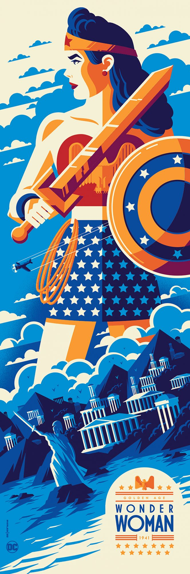 Golden Age: Wonder Woman - Tom Whalen