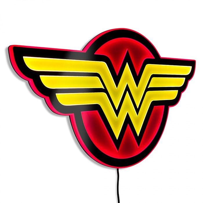 Wonder Woman Illuminated Wall Art