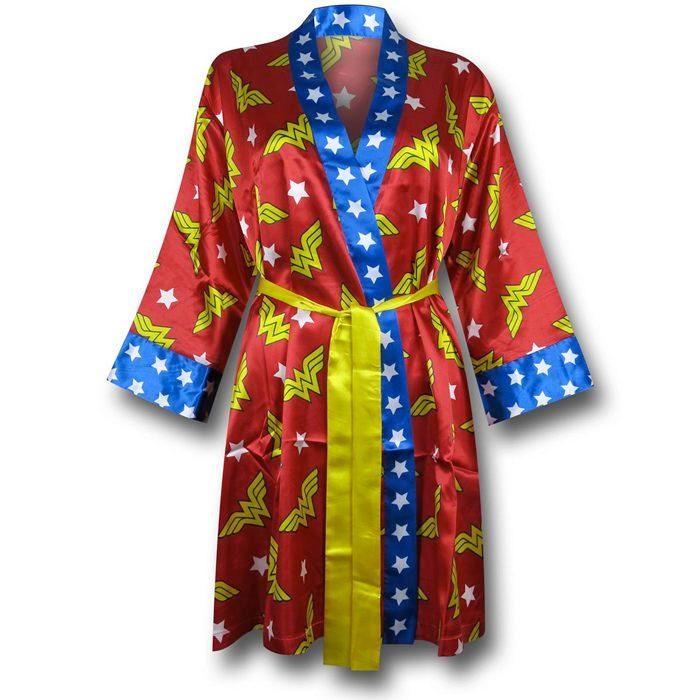 Wonder Woman Kimono Robe