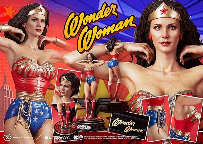 Wonder Woman TV Series Statue