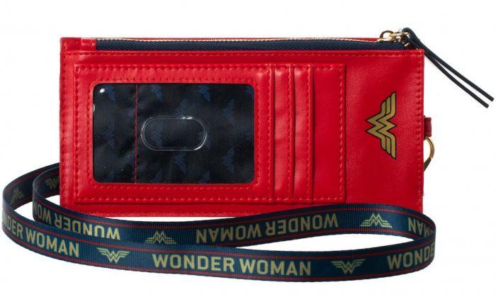 Wonder Woman Wallet Lanyard