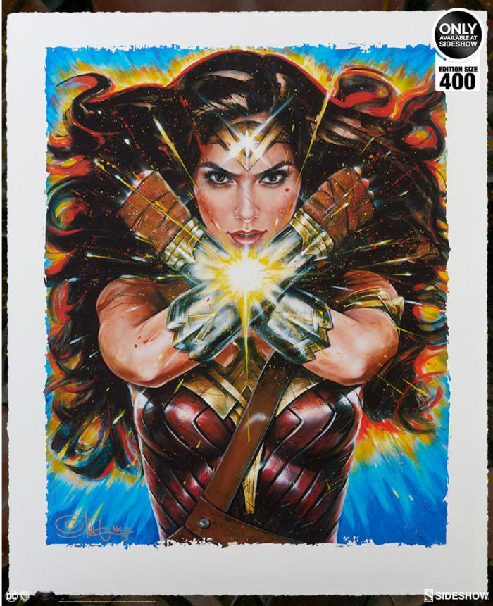 Sideshow Collectibles Wonder Woman Print