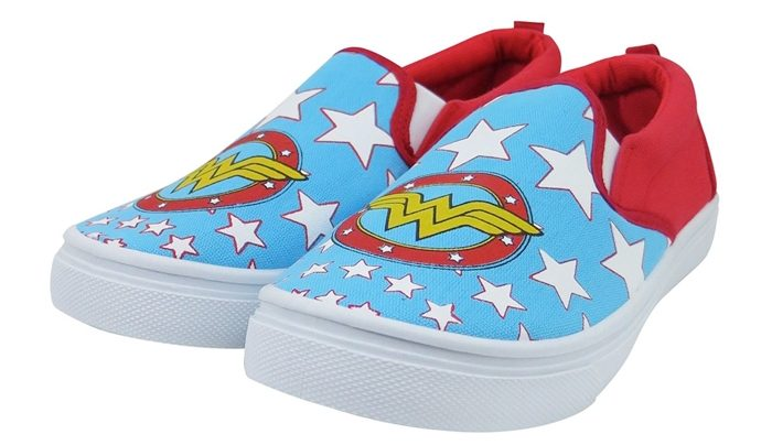 Wonder Woman Slip-On Shoes
