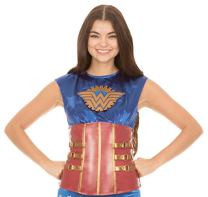 Wonder Woman Steampunk Corset