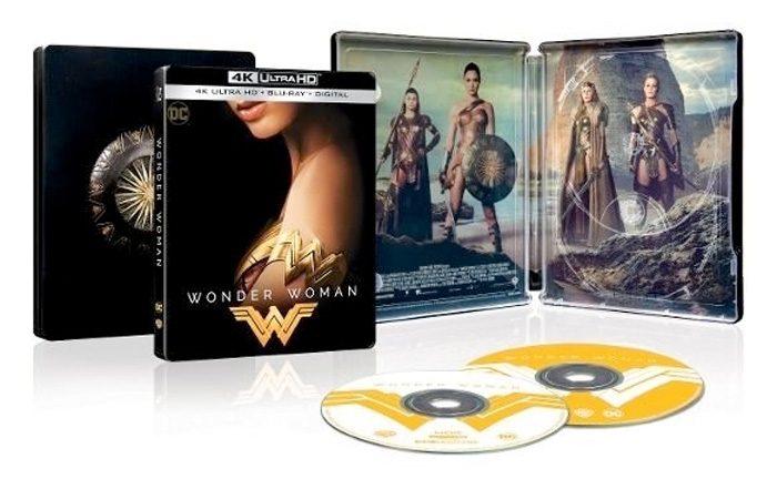 Wonder Woman Steelbook