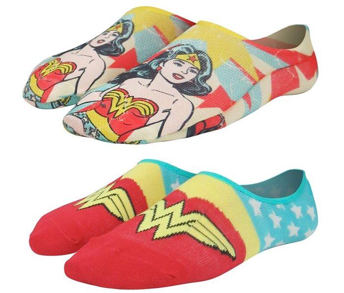 Wonder Woman Low-Cut Socks