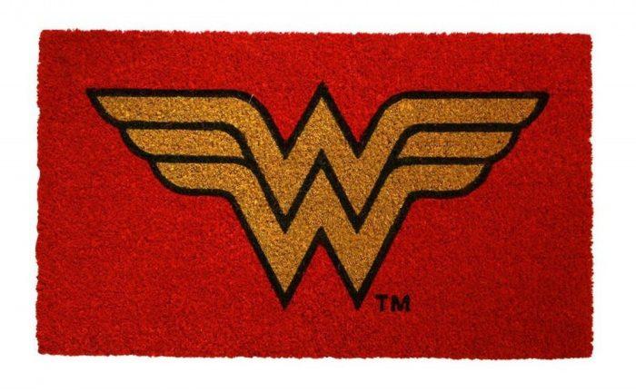 Wonder Woman Welcome Mat