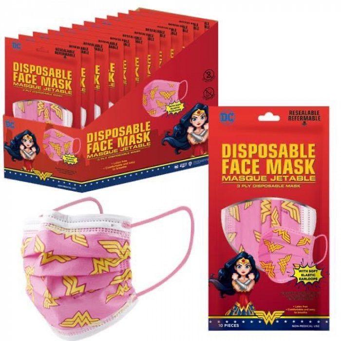 Wonder Woman Youth Masks