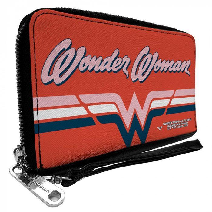 Wonder Woan Zip Around Wallet