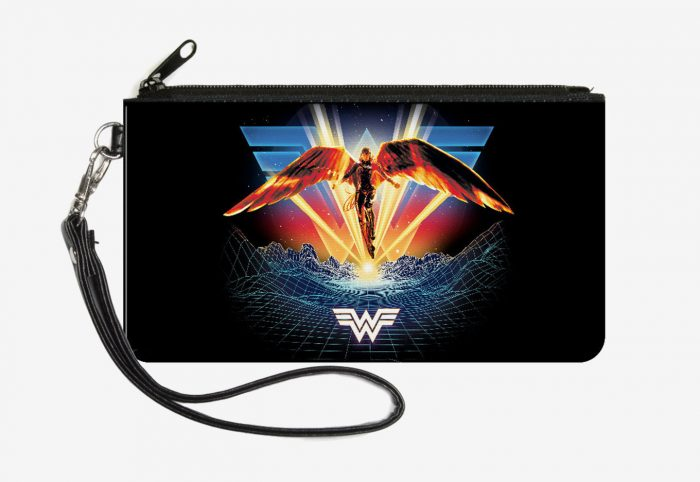 Wonder Woman 1984 Zip Clutch