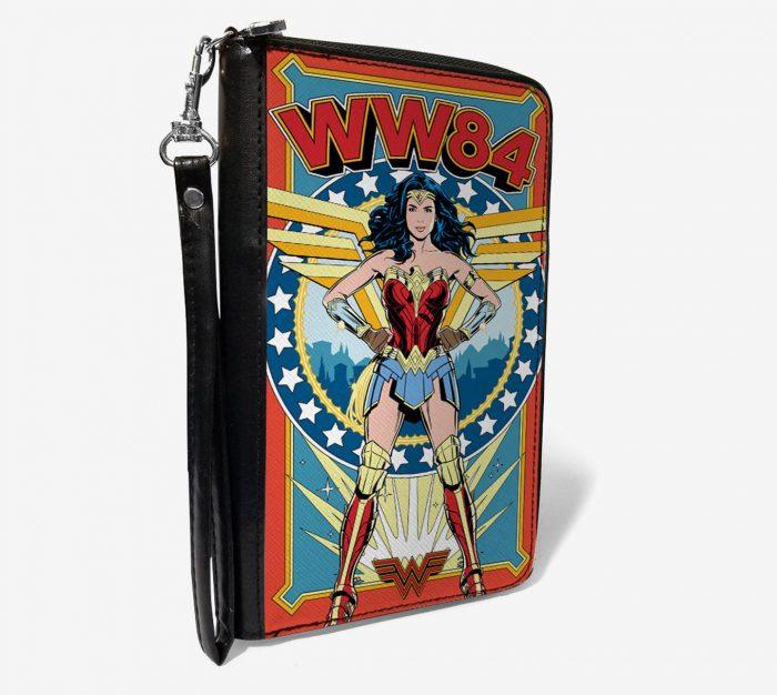 Wonder Woman 1984 Zip Around Wallet